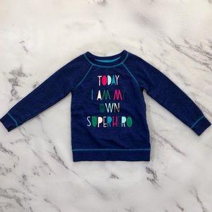 Blue Tunic Sweatshirt by Cat & Jack